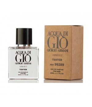 Мини-тестер 50 ml Giorgio Armani Acqua Di Gio Absolu for men