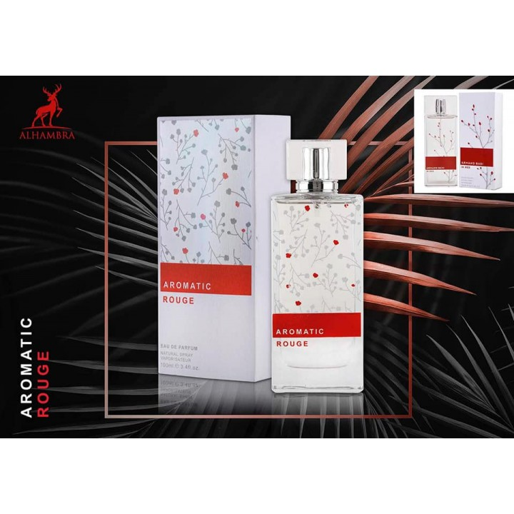 AROMATIC ROUGE poure femme (for woman) 100 ml ORIGINAL