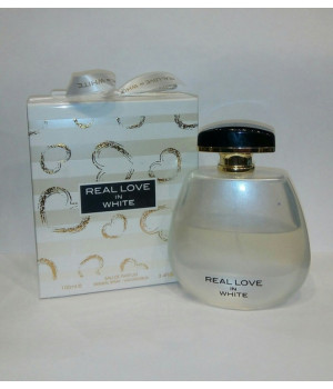 Fragrance  World Real Love in White 100 ml for woman