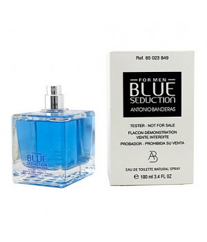ТЕСТЕР ANTONIO BANDERAS BLUE SEDUCTION FOR MEN EDT 100ml