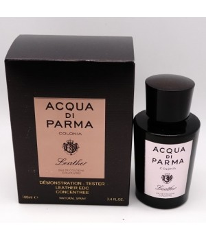ТЕСТЕР ACQUA DI PARMA COLONIA LEATHER EAU DE COLOGNE CONCENTREE FOR MEN 100ml