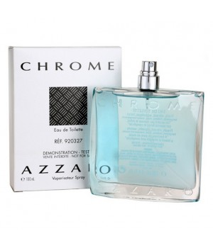 ТЕСТЕР AZZARO CHROME FOR MEN EDT 100ml