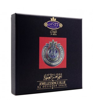 ПОДАРОЧНЫЙ НАБОР SHAIK OPULENT SHAIK BLUE №77 FOR MEN EDP 5x7.5ml