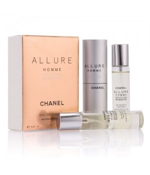 CHANEL ALLURE HOMME BLANCHE EDITION EDT 3x20ml
