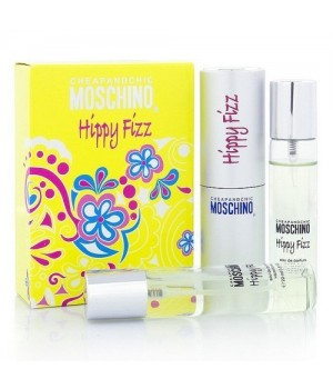 MOCHINO CHEAP&CHIC HIPPY FIZZ FOR WOMEN EDT 3x20ml