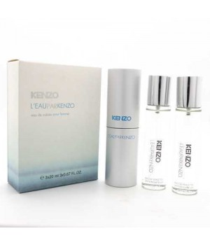 KENZO L`EAU PAR FOR WOMEN EDT 3x20ml