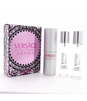 VERSACE BRIGHT CRYSTAL ABSOLU FOR WOMEN EDT 3x20ml