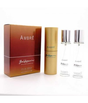 BALDESSARINI AMBRE FOR MEN EDT 3x20ml