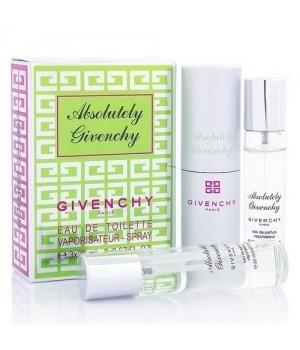 GIVENCHY ABSOLUTELY GIVENCHY FOR WOMEN EDT 3x20ml