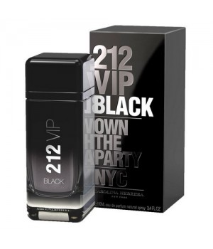 CH 212 VIP BLACK OWN THE PARTY FOR MEN EDP 100ml