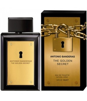 ANTONIO BANDERAS THE GOLDEN SECRET EDT FOR MEN 100ML