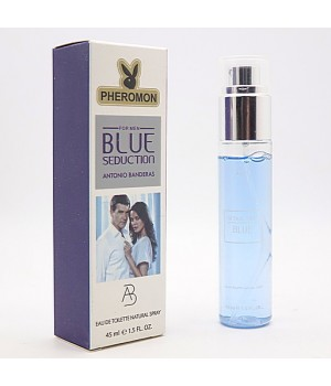 ANTONIO BANDERAS BLUE SEDUCTION FOR MEN EDT 45ml PHEROMON