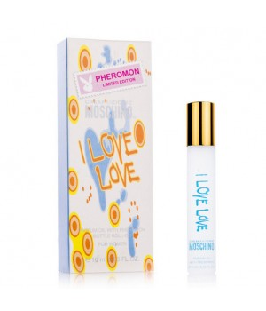 MOCHINO CHEAP&CHIC I LOVE LOVE FOR WOMEN PARFUM OIL 10ml