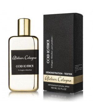 ATELIER COLOGNE GOLD LEATHER UNISEX COLOGNE ABSOLUE 100ml